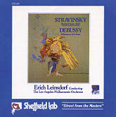 Stravinsky: Firebird Suite (1910); Debussy: Afternoon of a Faun