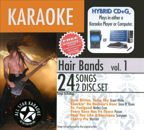 Hair Bands with Karaoke Edge
