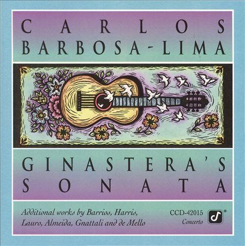 Carlos Barbosa-Lima plays Ginastera's Sonata