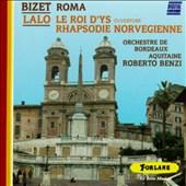 Bizet: Roma; Lalo: Le Roi d'Ys Ouverture; Rapsodie norvégienne