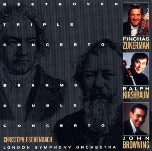 Brahms: Double Concerto; Beethoven: Triple Concerto
