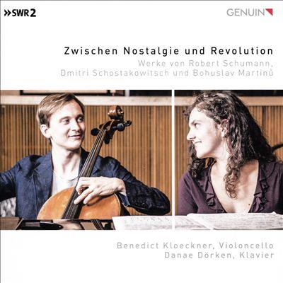 Zwischen Nostalgie und Revolution: Werke von Robert Schumann, Dmitri Schostkowitsch und Bohuslav Martinu