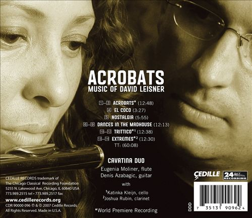 Acrobats: Music of David Leisner