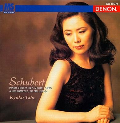 Schubert: Piano Sonata in A / Impromptus Op.90