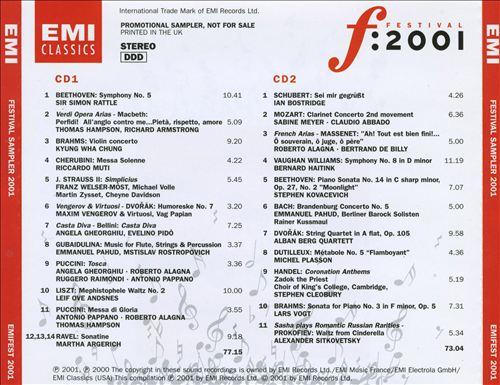 Festival: 2001