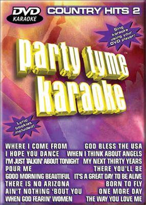 Party Tyme Karaoke: Country Hits, Vol. 2 [DVD]