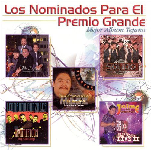 Premio Grande Mejor Album Tejano