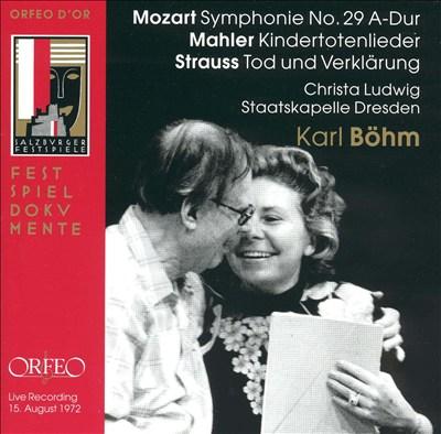 Karl Böhm Conducts Mozart, Mahler, Strauss