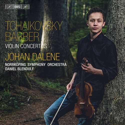 Tchaikovsky, Barber: Violin Concertos