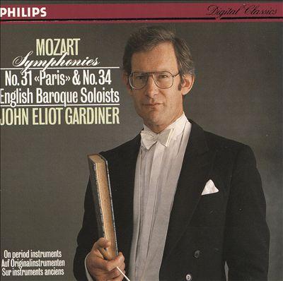 "Mozart: Symphonies No. 31 ""Paris"" & No. 34"