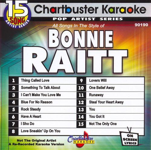 Chartbuster Karaoke: Bonnie Raitt