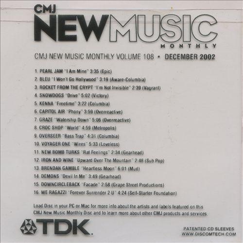 CMJ New Music, Vol. 108