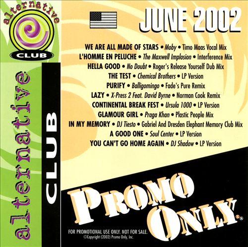 Promo Only: Alternative Club (June 2002)