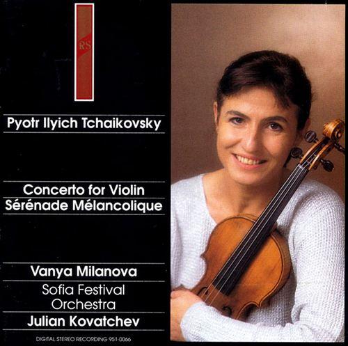 Tchaikovsky: Concerto for Violin; Sérénade Mélancolique