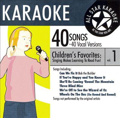 Karaoke: Children's Favorites, Vol. 1