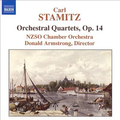 Carl Stamitz: Orchestral Quartets, Op. 14
