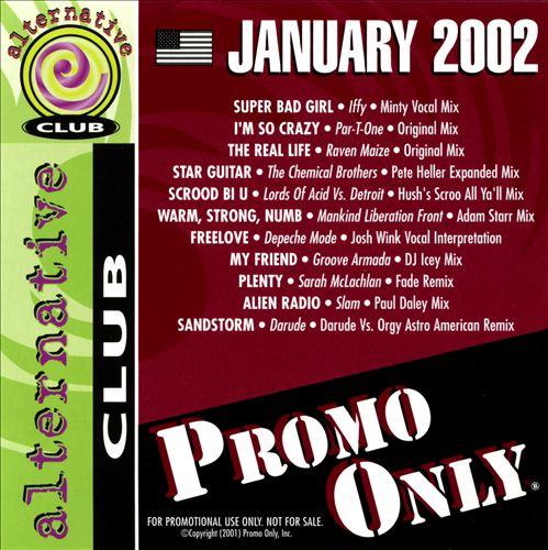 Promo Only: Alternative Club (January 2002)