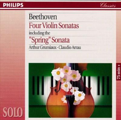 "Beethoven: Four Violin Sonatas including the ""Spring"" Sonata"