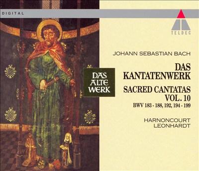 Bach: Sacred Cantatas, Vol. 10 - BWV 183-188, 192, 194-199