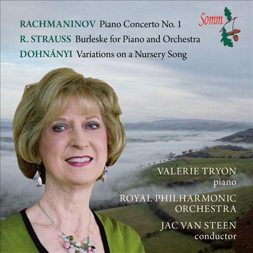Rachmaninov, Strauss, Dohnányi: Works for Orchestra & Piano