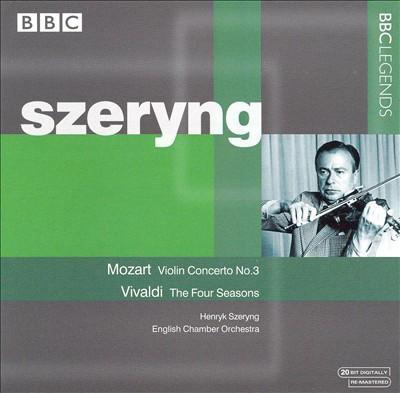 Mozart: Violin Concerto No. 3; Vivaldi: The Four Seasons