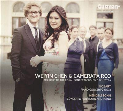 Mozart: Piano Concerto No. 12; Mendelssohn: Concerto for Violin and Piano