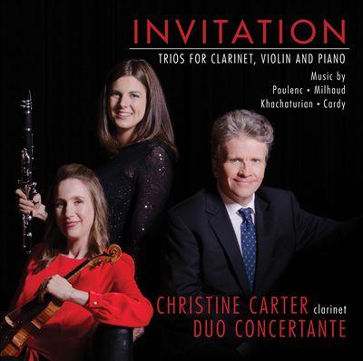 Invitation: Trios for Carinet, Violin and Piano