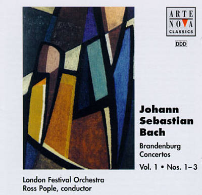 Johann Sebastian Bach: Brandenburg Concertos,  Vol. 1