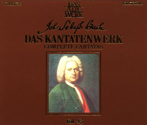 Bach: Complete Cantatas, Vol. 43