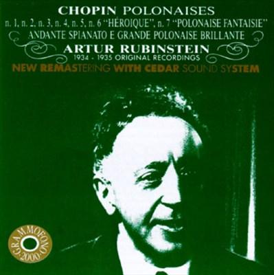 """Chopin: Polonaises Nos. 1-5, 6 """"Heroique"""" & 7 """"Polonaise Fantaisie""""; Andante Spinato e Grande Polonaise Brillante"""