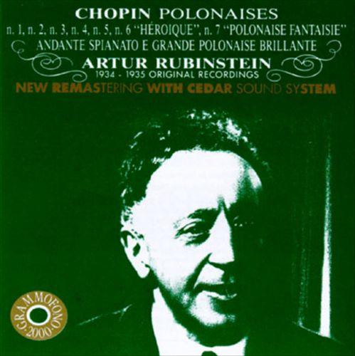 Chopin: Polonaises Nos. 1-5, 6