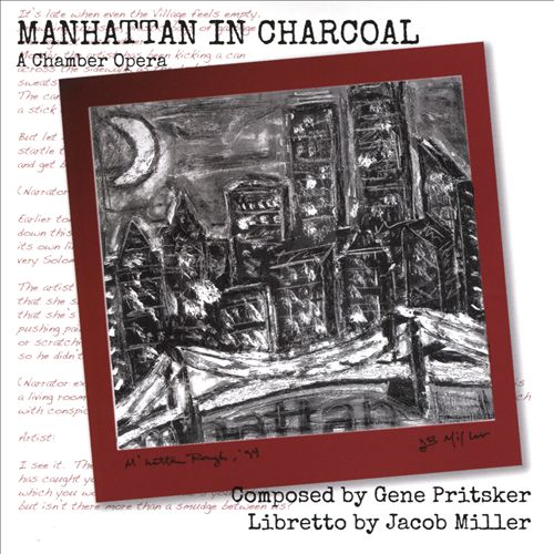 Gene Pritsker: Manhattan in Charcoal