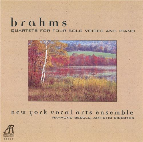 Brahms: Vocal Quartets