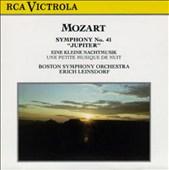 """Mozart: Symphony No. 41 """"Jupiter""""; Eine kleine Nachtmusik"""