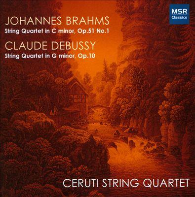 Brahms, Debussy: String Quartets