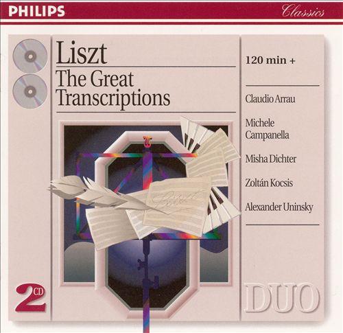 Liszt: The Great Transcriptions