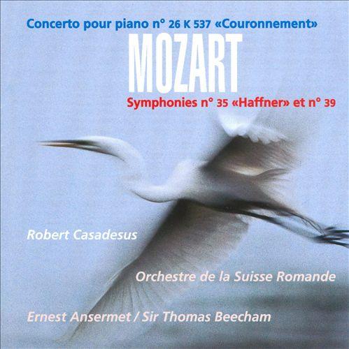 Mozart: Piano Concerto 26; Symphonies 35 & 39