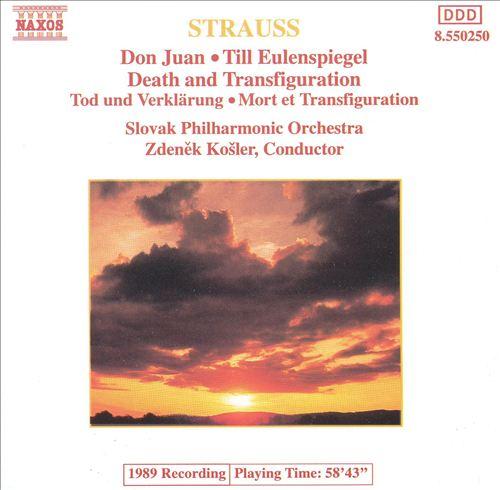 Strauss: Don Juan; Till Eulenspiegel; Death and Transfiguration