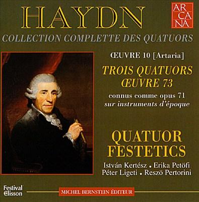 Haydn: Collection Complete des Quatuors - Trois Quatuors Oeuvre 73 (Op. 71)