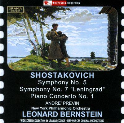 """Shostakovich: Symphonies Nos. 5 & 7 """"Leningrad""""; Piano Concerto No. 1"""