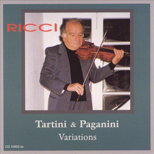 Tartini & Paganini: Solo Violin Variations