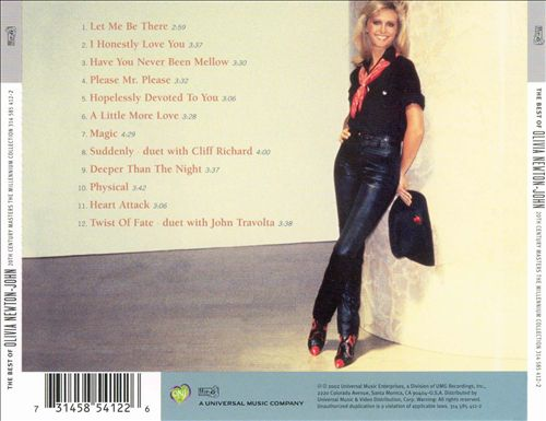 20th Century Masters - The Millennium Collection: The Best of Olivia Newton-John
