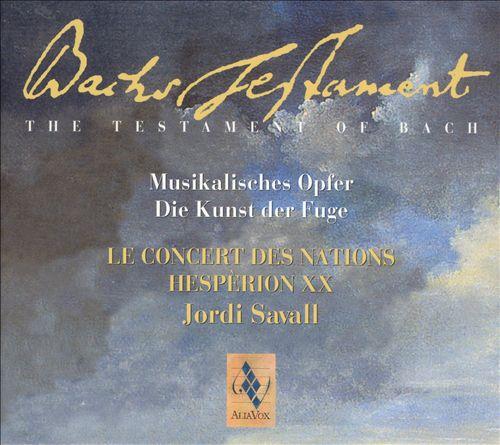 Bach's Testament