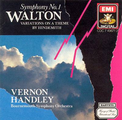 Walton: Symphony No. 1; Variations on a Theme by Hindemith