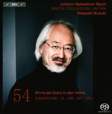 Bach: Cantatas, Vol. 54
