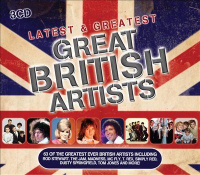 最新和最伟大的:伟大的英国艺术家