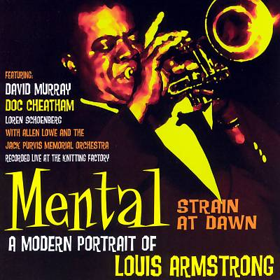 Mental Strain at Dawn: A Modern Portrait of Louis Armstrong