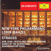 Strauss: Don Juan; Death and Transfiguration; Dance of the Seven Veils; Rosenkavalier Suite