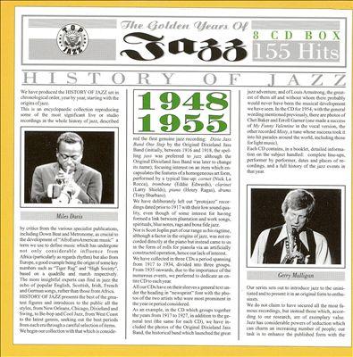 Golden Years of Jazz 1948-1955
