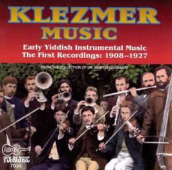 Klezmer: Early Yiddish Instrumental Music 1908-1927